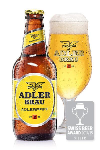 Klassiker Adlerpfiff Silber Brauerei Adler | Adlerbräu