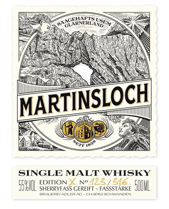Ab Martinsloch Etikette Web Brauerei Adler   Adlerbräu