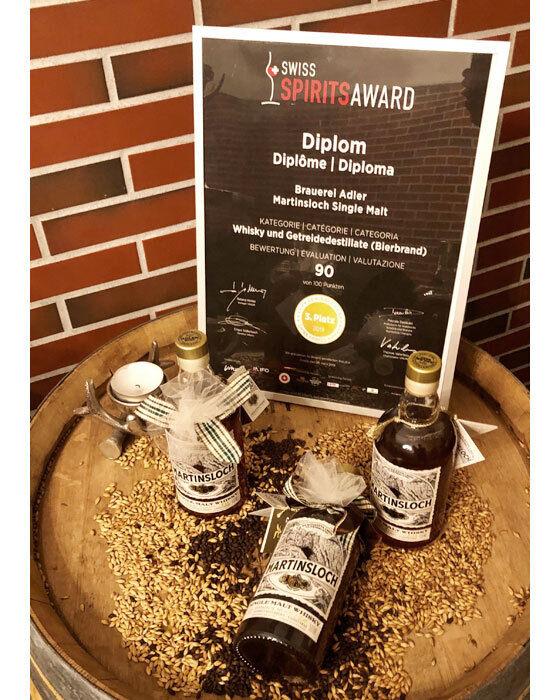 Bild Swiss Spirits Award Brauerei Adler | Adlerbräu
